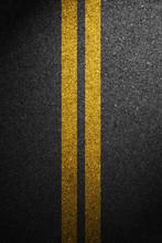 Road Asphalt Texture With Sepa...