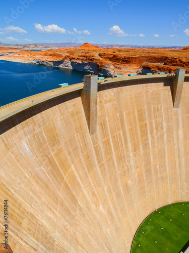 Photo sur Toile Barrage Glen Canyon Dam