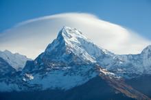 Mountain Peak Annapurna South ...