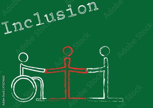 Fotografia, Obraz  Inclusion