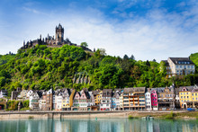 Town Of  Cochem With The Imper...
