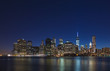 Manhattan night view