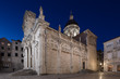 Cathedral - the Assumption of the Virgin Mary. Dubrovnik.