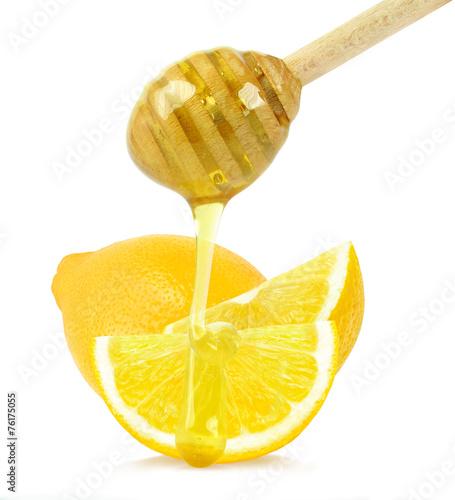 lemon with honey Canvas Print
