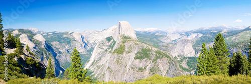Photo  Yosemite National Park panoramic view
