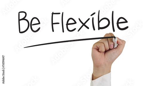 Valokuva  Be Flexible