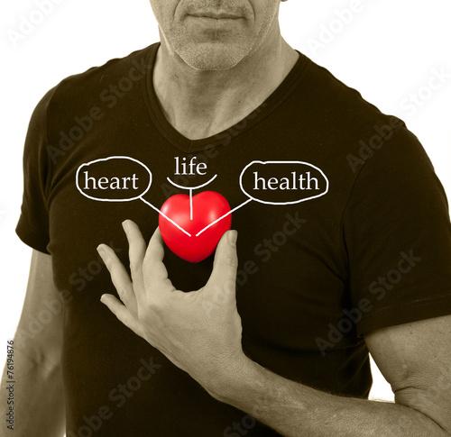 Cuore salute e prevenzione #76194876