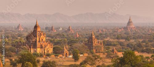 Платно  Tamples of Bagan, Burma, Myanmar, Asia.