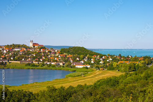 Photo  Tihany and the Balaton