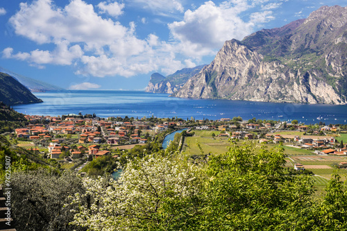 Photo  Herrlicher Blick zum Gardasee, Italien