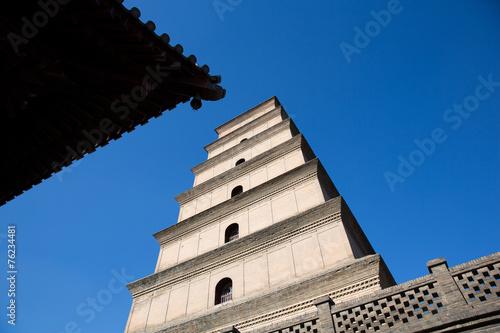 Papiers peints Xian Big Wild Goose Pagoda in southern Xi'an, China