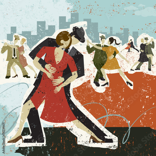 Photo  Dancing the Tango