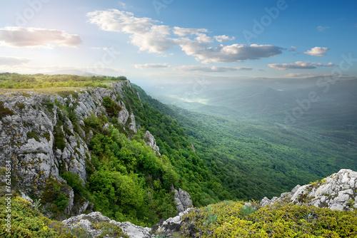 Foto Mountain plateau