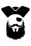Pirate mascot Head
