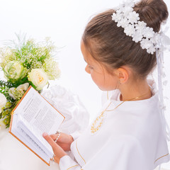 Naklejka First Holy Communion