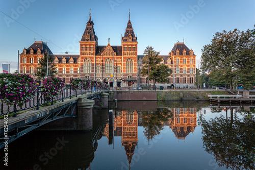 Canvas Prints Amsterdam Museum Amsterdam