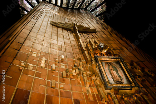 Fotografie, Obraz  Image of Our Lady of Guadalupe Shrine