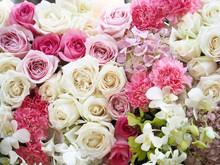 Wedding Bouquet In Wedding Cha Vintage Color Tone