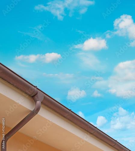 Valokuva  drainpipe under the sky