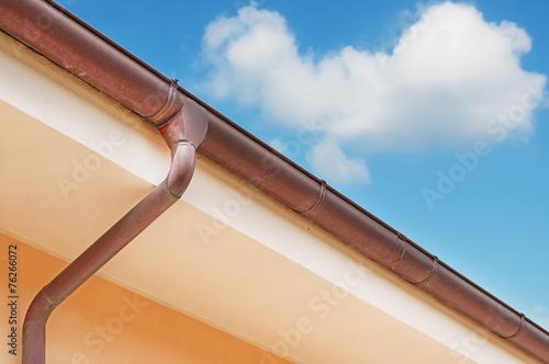 Fotografia, Obraz  brown drainpipe