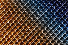 Icy Colored Chain Link Fence B...