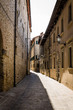 street in medieval town, Italy