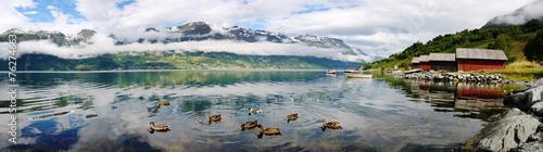 Naklejka Norway landscape