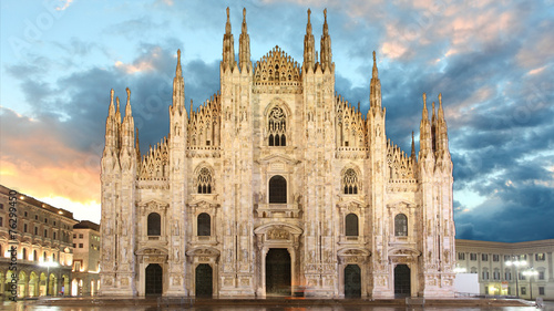 Deurstickers Milan Milan - Duomo