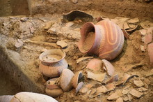 Ancient Pottery Of Ban Chiang, Udon Thani, Thailand