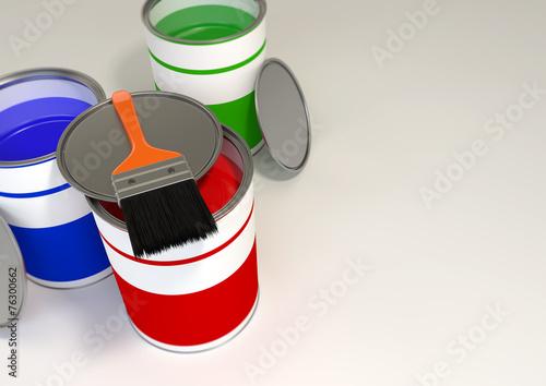 Photo GRB Paint Buckets