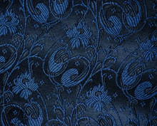 Vintage Brocade Fabric Detail
