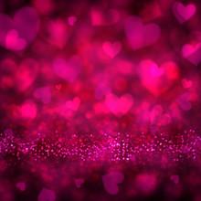 Valentine's Magenta Background.