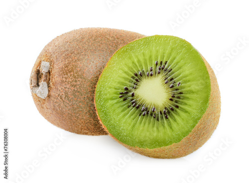Fotografie, Tablou  kiwi fruit isolated