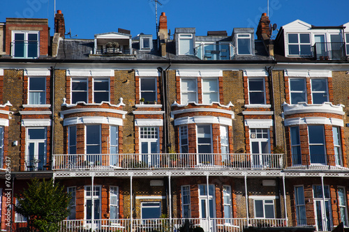 Photo Terraced houses