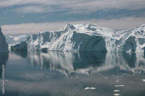 Printed kitchen splashbacks Glaciers Kangiaeisfjord bei Ilulissat