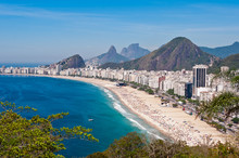 View Of Copacabana Beach In Ri...