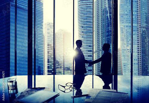 Fotografía  Business Handshake Agreement Partnership Deal Team Concept