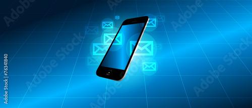 Photo  sms, palmare, messaggi, devices
