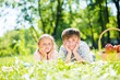 Kids at picnic