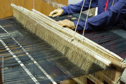 Fotografie, Obraz  Weaving loom