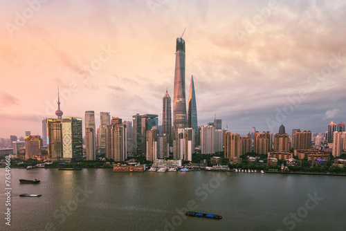 Foto op Aluminium Shanghai Shanghai's skyscrapers