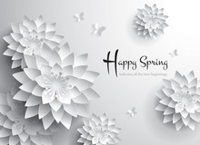 Happy Spring. Welcome All The New Beginnings.