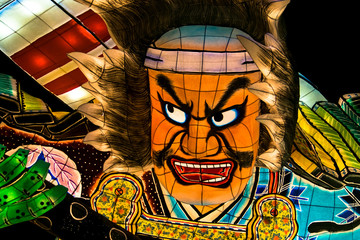 Nebuta, the traditional Japanese festival