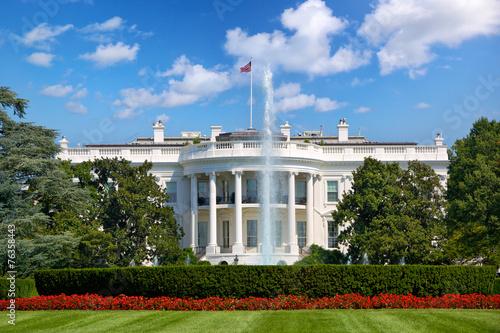 Fotografía  La Casa Blanca en Washington DC, Estados Unidos