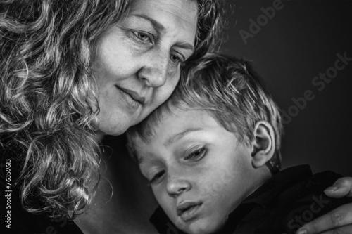 Fotografie, Obraz  Mother and Son