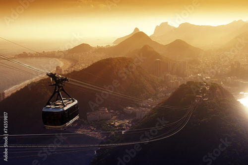 Photo  Sugarloaf cable car