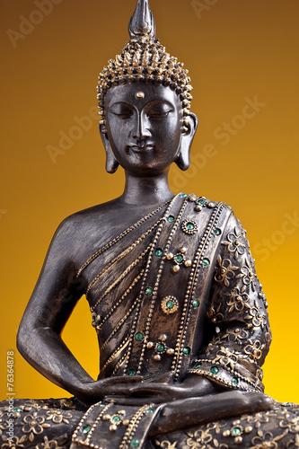 Fotografie, Obraz  Buddha Statur