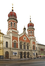Great Synagogue In Plzen. Czec...