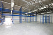 Empty storage room