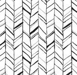 Ręcznie rysowane wzór w jodełkę - 76397240